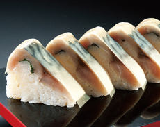 極選大名サバ棒寿司