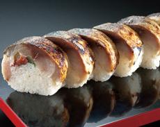 特製焼サバ棒寿司