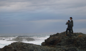紀州の海・波・岩