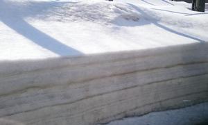 3月も半ばだというのに、まだあちこちに雪がたくさん残っていました。一泊したら、市場へいざ出陣!