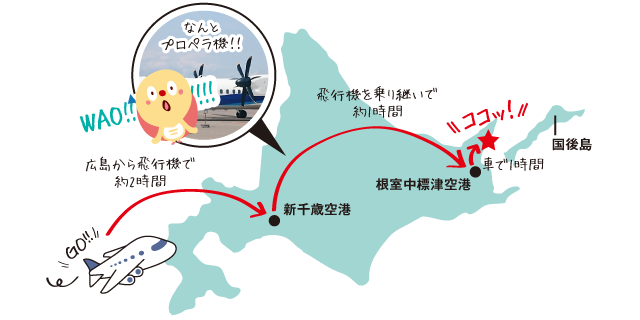 行ったことありますか? 北海道・知床半島にある羅臼(らうす)町。 今回仕入れ部がその地まで足を運んだのは「羅臼にはウマいものがたくさんある!!」から。 広島からやっとのことでたどり着いた先では