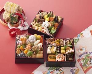祝肴を中心に、素材にこだわる祇園の名店の京風おせち。全52品。